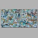 halpa Ylä- Taiteilija-Hang-Painted öljymaalaus Maalattu - Abstrakti European Style Välimeren Kangas