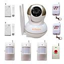 ieftine Sisteme Alarmă Hoți-wifi alarmă antiefracție acasă sistem de securitate Camera IP de supraveghere video de casă anti hoț cu detectoare ALARME wireless