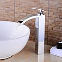 halpa Bidehanat-kylpyamme hana - esihuuhtele / vesiputous / laaja kromi centerset yksi kahva kaksi reikää kylpyammeet hanat
