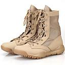 abordables Zapatillas Deportiva de Mujer-Unisex Zapatos Ante Primavera / Verano / Otoño Confort / Botas Camperas / Botas hasta el Tobillo Botas Senderismo Negro / Beige