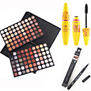 cheap Eye Kits & Palettes-Eyeshadow Palette Mascara Eyeliner Makeup Eye Eyelash Face Waterproof Fast Dry Long Lasting 120 Colors Cosmetic Grooming Supplies