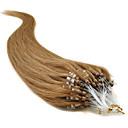 """tanie Przedłużenie micro ring-20"""" złoty brąz (# 12) 100s micro loop ludzkich włosów rozszerzenia"""