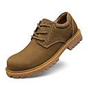 cheap Men's Oxfords-Men's Shoes Cowhide Spring / Fall Comfort Oxfords Yellow / Camel / Leather Shoes