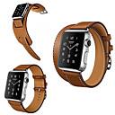 abordables Reloj Smart Accesorios-Ver Banda para Apple Watch Series 3 / 2 / 1 Apple Hebilla Clásica Cuero Auténtico Correa de Muñeca