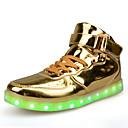 abordables Zapatillas de Hombre-Mujer Zapatos PU Primavera / Otoño Confort / botas slouch / Zapatos con luz Zapatillas de deporte Paseo Tacón Plano Dedo redondo Con