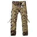 abordables Botas de nieve para Hiking-Hombre Activo Tallas Grandes Algodón Corte Recto / Chinos Pantalones - Un Color