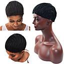 رخيصةأون أدوات و اكسسوارات-Wig Accessories بلاستيك قبعات الباروكة يوميا كلاسيكي أسود