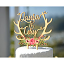 cheap Cake Toppers-Cake Topper Garden Theme Floral Theme Classic Theme Fairytale Theme Vintage Theme Classic Couple Acryic/Polyester Wedding Anniversary with