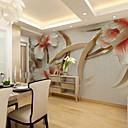 abordables Murales-3D Decoración hogareña Moderno Revestimiento de pared, Lona Material adhesiva requerida Mural, Revestimiento de paredes de habitaciones