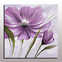 cheap Floral/Botanical Paintings-Oil Painting Hand Painted - Floral / Botanical European Style Modern Canvas