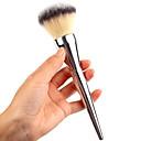 halpa Tablettikotelot&Näytön suojakalvot-1pcs Makeup Harjat ammattilainen Puuterisivellin Synteettinen tukka Ammattilais Metalli Iso harja