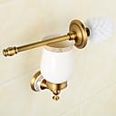 billige Veggklistremerker-Toalett Børster & Holdere Neoklassisk Messing 1 stk - Hotell bad