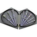 baratos Conjuntos de Pincéis de Maquiagem-8pçs Pincéis de maquiagem Profissional Pêlo Sintético / Escova de Fibra Artificial Cobertura Total Plástico