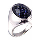 cheap Men's Rings-Men's Statement Ring / Ring - Titanium Steel Galaxy Vintage, Fashion 7 / 8 / 9 Black For Daily / Casual