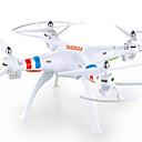 preiswerte Ferngesteuerte Quadcopters & Multi-Rotoren-RC Drohne GW180HW 4 Kan?le 6 Achsen 2.4G Mit HD - Kamera 2.0MP 200 Ferngesteuerter Quadrocopter FPV / LED-Lampen / Ein Schlüssel Für Die