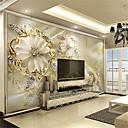 رخيصةأون معلقات الجدران-الفني 3D تصميم ديكور المنزل كلاسيكي تغليف الجدران, كنفا مادة لاصق المطلوبة جدارية, غرفة الكوفيرينج