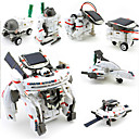 olcso Robotok-7 IN 1 Robot Játékautók Napelemes játékok tér Toys Toy repülőgépek Tudomány és Kutatás szettek Játékok Robot Napelemes Újratölthető DIY