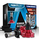 baratos Faróis para Carros-NIGHTEYE H4 Carro Lâmpadas 60 W COB 10000 lm LED Lâmpada de Farol