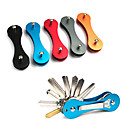 cheap Camping Tools, Carabiners & Ropes-Keychain Favors / Multitools Multi Function, Convenient for Hiking / Camping / Outdoor - Aluminium Alloy