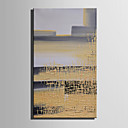 billige Oljemalerier-Hang malte oljemaleri Håndmalte - Abstrakt Europeisk Stil Moderne Lerret