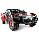 cheap RC Cars-RC Car WL Toys 12423 2.4G Truck Off Road Car High Speed 4WD Drift Car Buggy Racing Car 1:12 Brush Electric 50 KM/H Remote Control