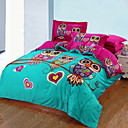 cheap Floral Duvet Covers-Duvet Cover Sets 3D Cotton Reactive Print 3 PieceBedding Sets / >800