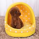 baratos Camas & Cobertores para Cães-Gato Cachorro Camas Animais de Estimação Capachos e Alcochoadas Poá Macio Amarelo Azul Rosa claro Para animais de estimação