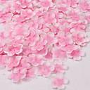 baratos Flor artificiali-Flores artificiais 1 Ramo Pastoril Estilo Sakura Flor de Mesa