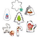 hesapli Çerez Araçları-Bakeware araçları Paslanmaz Çelik Noel / Kendin-Yap Kek / Kurabiye / Tart karikatür Şekilli / Hayvan Pişirme Kalıp 7pcs