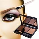 abordables Kits y Paletas para Ojos-Polvos Maquillaje Ojo Seco Gloss colorido Natural Cosmético Útiles de Aseo