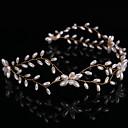 billige Hodeplagg til fest-Perle pannebånd med 1 Bryllup / Spesiell Leilighet Hodeplagg