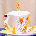 olcso Kulcstartók-drinkware Üveg Alkalmi poharak / Teáscsészék / Üveg Girlfriend Ajándék / Díszítmény 1 pcs
