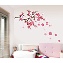 cheap Wall Stickers-Decorative Wall Stickers - Plane Wall Stickers Romance / Fashion / Florals Living Room / Bedroom / Study Room / Office / Washable