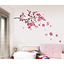 hesapli Duvar Çıkartmaları-Dekoratif Duvar Çıkartmaları - Uçak Duvar Çıkartmaları Romantizm / Moda / Çiçekler Oturma Odası / Yatakodası / Çalışma Odası / Ofis