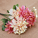 cheap Artificial Flower-Artificial Flowers 1 Branch Modern Style Daisies Tabletop Flower