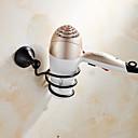 baratos Prateleiras de Banheiro-Prateleira de Banheiro Clássica Latão 1 Pça. - Banho do hotel
