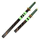 preiswerte Anime Cosplay Swords-Waffen / Schwert Inspiriert von One Piece Roronoa Zoro Anime Cosplay Accessoires Waffen Holz Herrn neu Halloween Kostüme