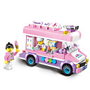 cheap Doll Houses-ENLIGHTEN Toy Car / Building Blocks 213pcs Car / Ice Cream Creative / Lovely Elegant & Luxurious / Glamorous & Dramatic / Cartoon Girls'