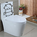cheap Wall Stickers-Abstract Animals Wall Stickers Plane Wall Stickers Decorative Wall Stickers Toilet Stickers, Paper Home Decoration Wall Decal Wall Toilet