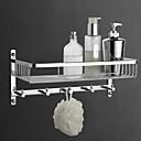 hesapli Banyo Rafları-Banyo Rafı Yüksek kalite Çağdaş Pirinç 1 parça - Otel banyo