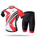 cheap Party Supplies-XINTOWN Men's Short Sleeves Cycling Jersey with Shorts - Red Blue Bike Shorts Jersey Pants / Trousers, Quick Dry, Ultraviolet Resistant,