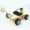 cheap Science & Exploration Sets-Toy Car Tank Chariot Creative Electric DIY Cool Wooden Metalic Plastic Boys' Kid's Gift 1pcs