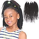 preiswerte Haarzöpfe-Geflochtenes Haar Senegal Twist Braids / Echthaar Haarverlängerungen 100% kanekalon haare / Kanekalon 81 Wurzeln Haar Borten Alltag