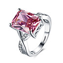 cheap Rings-Women's Cubic Zirconia Band Ring - Zircon Fashion 6 / 7 / 8 Light Pink For Party / Halloween