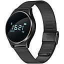 baratos Smartwatches-Pulseira inteligente para iOS / Android Monitor de Batimento Cardíaco / Medição de Pressão Sanguínea / Calorias Queimadas / Suspensão Longa / Tela de toque Temporizador / Monitor de Atividade