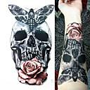 billige Midlertidige tatoveringer-Vanntett / 3D / Tattoo-klistremerke arm midlertidige Tatoveringer 1 pcs Totem Serier / Dyre Serier kropps~~POS=TRUNC