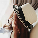cheap Synthetic Capless Wigs-Women's Holiday Bucket Hat / Straw Hat / Sun Hat - Solid Colored / Cute / Summer