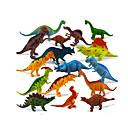 abordables Figuras de dinosaurios-Dragones y dinosaurios Figuras de dinosaurios Dinosaurio jurásico Triceratops Tirano-saurio Rex El plastico Chico Niños Regalo