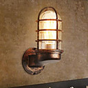 cheap Wall Sconces-Rustic / Lodge Wall Lamps & Sconces Metal Wall Light 110-120V / 220-240V 40W