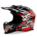 baratos Equipamentos de Proteção-Beon full-face sem-estrada motocicleta capacete abs velocidade motorsport preto / vermelho capacete de cor